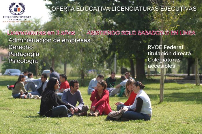Licenciaturas sabatinas licenciaturas sabatinas toluca for Licenciaturas sabatinas
